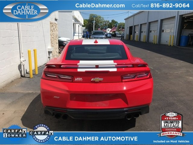 2016 Red Hot Chevy Camaro SS 2 Door 6.2L V8 Engine Coupe