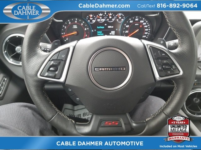 2016 Red Hot Chevy Camaro SS Coupe 2 Door Automatic