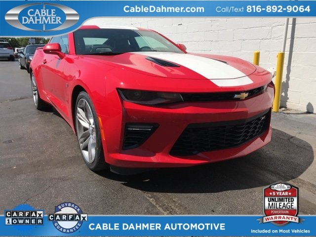 2016 Chevy Camaro SS 2 Door Coupe RWD 6.2L V8 Engine Automatic