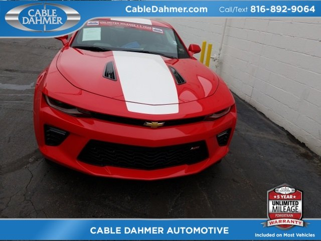 2016 Chevy Camaro SS RWD 6.2L V8 Engine 2 Door Coupe
