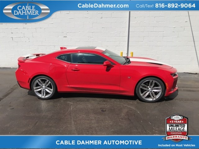 2016 Chevy Camaro SS Coupe 6.2L V8 Engine RWD