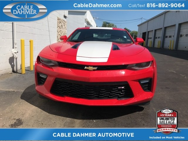 2016 Red Hot Chevy Camaro SS RWD 2 Door 6.2L V8 Engine