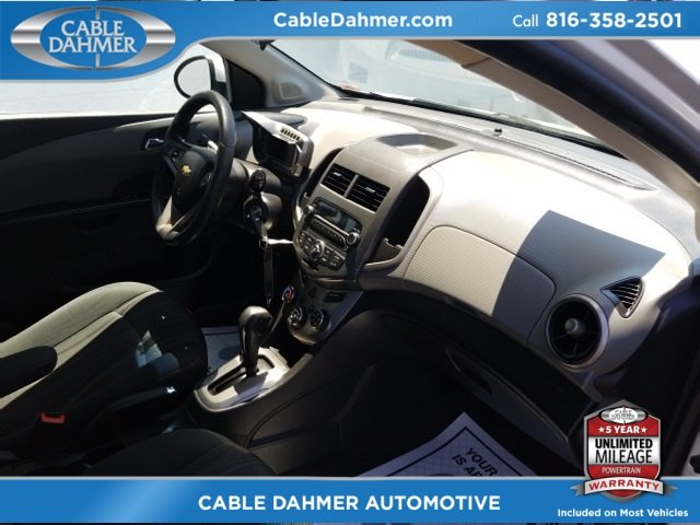 2012 Silver Ice Metallic Chevy Sonic LT Automatic ECOTEC 1.8L I4 DOHC VVT Engine FWD Hatchback