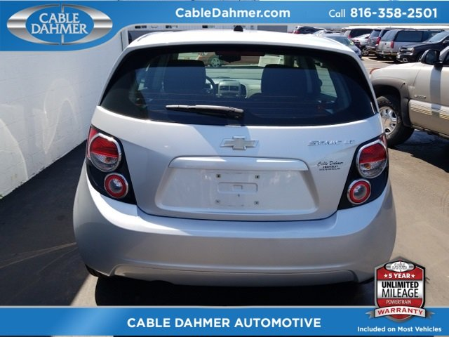 2012 Silver Ice Metallic Chevy Sonic LT Automatic 4 Door ECOTEC 1.8L I4 DOHC VVT Engine