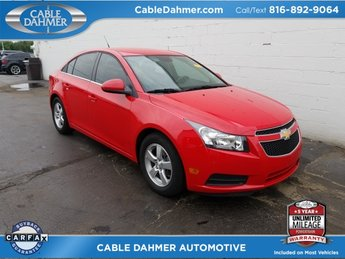 2014 Chevy Cruze 1LT Sedan ECOTEC 1.4L I4 SMPI DOHC Turbocharged VVT Engine 4 Door FWD