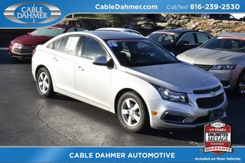 2016 Silver Chevy Cruze Limited LT Sedan FWD ECOTEC 1.4L I4 SMPI DOHC Turbocharged VVT Engine