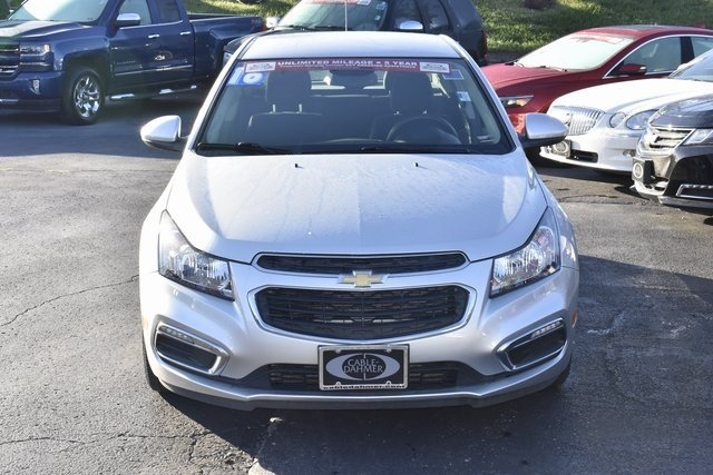 2016 Silver Chevy Cruze Limited LT FWD Sedan 4 Door ECOTEC 1.4L I4 SMPI DOHC Turbocharged VVT Engine