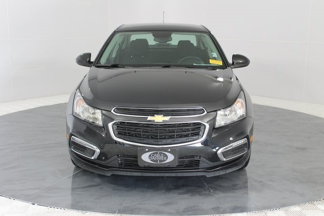 2016 Black Granite Metallic Chevy Cruze Limited LT ECOTEC 1.4L I4 SMPI DOHC Turbocharged VVT Engine Sedan FWD 4 Door