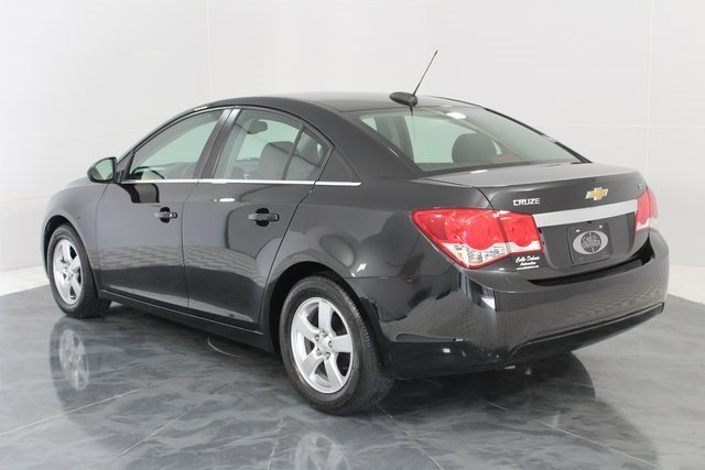 2016 Black Granite Metallic Chevy Cruze Limited LT Sedan Automatic ECOTEC 1.4L I4 SMPI DOHC Turbocharged VVT Engine