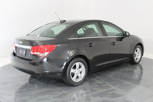 2016 Black Granite Metallic Chevy Cruze Limited LT ECOTEC 1.4L I4 SMPI DOHC Turbocharged VVT Engine 4 Door Sedan