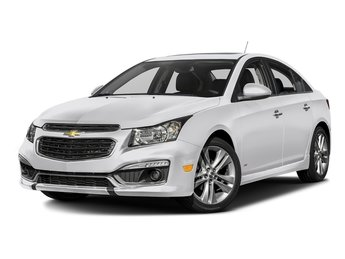 2016 Chevy Cruze Limited LTZ FWD ECOTEC 1.4L I4 SMPI DOHC Turbocharged VVT Engine Sedan 4 Door