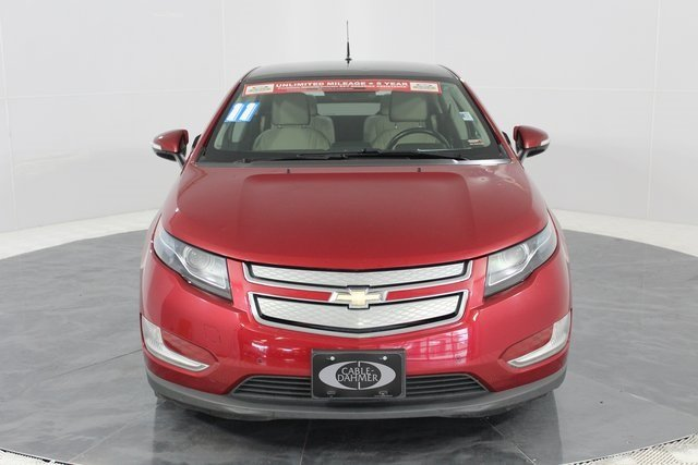 2011 Crystal Red Metallic Tintcoat Chevy Volt Base Voltec Electric Drive Unit Engine 4 Door Automatic
