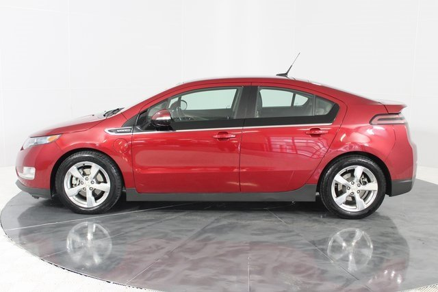 2011 Crystal Red Metallic Tintcoat Chevy Volt Base 4 Door Hatchback Automatic