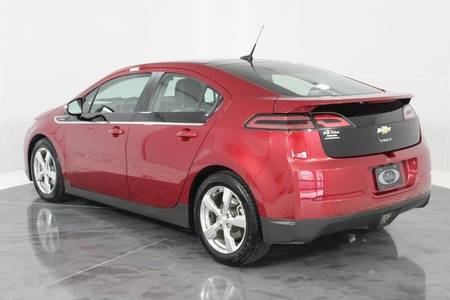 2011 Crystal Red Metallic Tintcoat Chevy Volt Base 4 Door Automatic Voltec Electric Drive Unit Engine