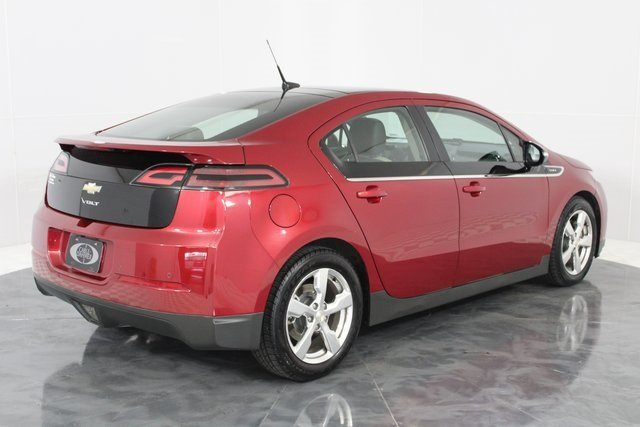 2011 Crystal Red Metallic Tintcoat Chevy Volt Base Automatic FWD Voltec Electric Drive Unit Engine Hatchback 4 Door