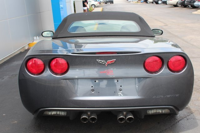 2011 Chevy Corvette w/3LT Convertible RWD Automatic 6.2L V8 SFI Engine