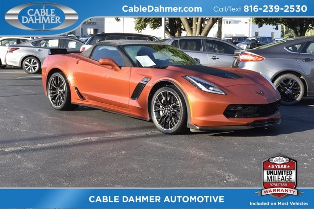 2015 Daytona Sunrise Orange Metallic Chevy Corvette Z06 3LZ 2 Door V8 Engine Convertible