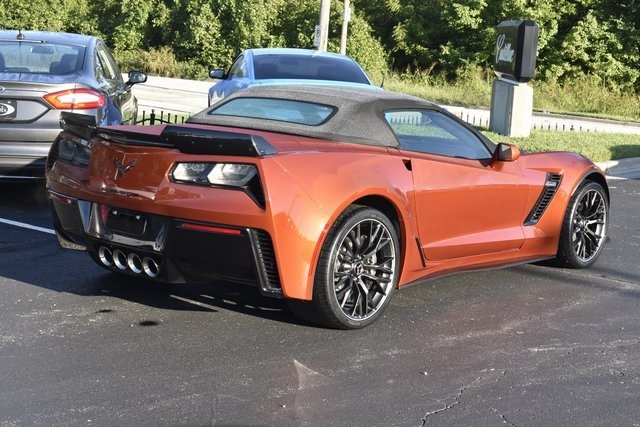 2015 Daytona Sunrise Orange Metallic Chevy Corvette Z06 3LZ RWD 2 Door Convertible V8 Engine