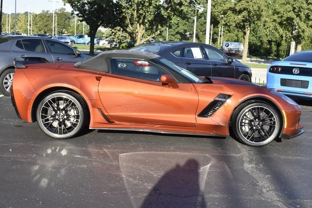 2015 Daytona Sunrise Orange Metallic Chevy Corvette Z06 3LZ Convertible 2 Door RWD