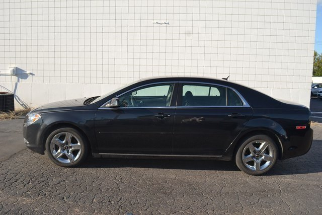 2010 Brown Chevy Malibu LT w/1LT ECOTEC 2.4L I4 MPI DOHC VVT 16V Engine Sedan Automatic 4 Door