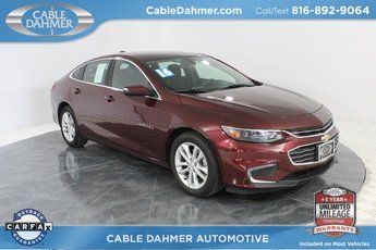 2016 Red Chevy Malibu LT Automatic 4 Door Sedan 1.5L DOHC Engine