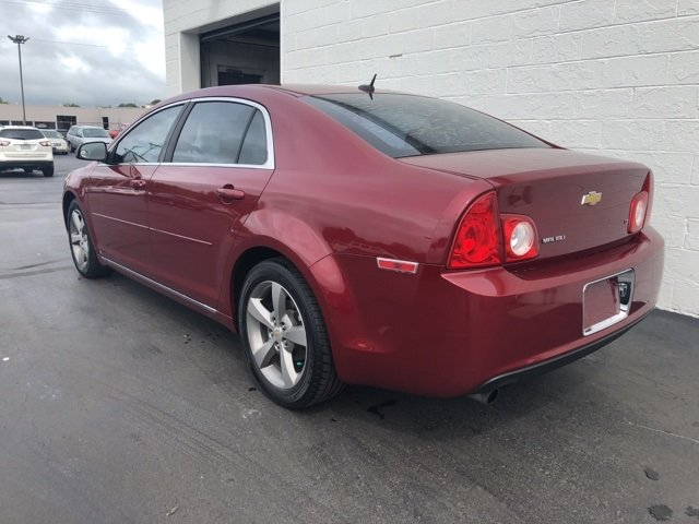 2009 red Chevy Malibu LT w/2LT FWD 4 Door Automatic ECOTEC 2.4L I4 MPI DOHC VVT 16V Engine Sedan