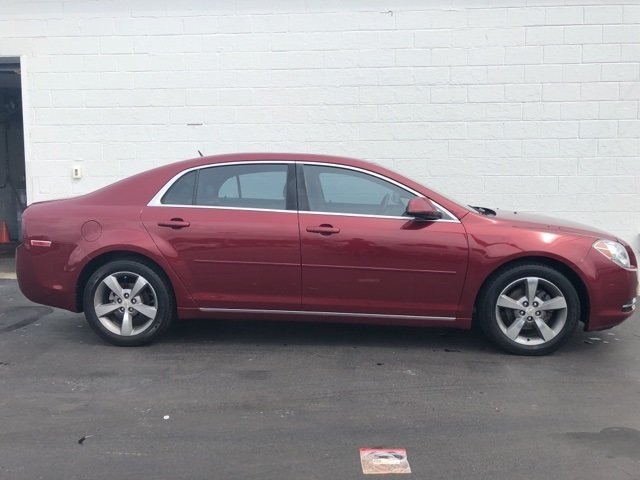 2009 red Chevy Malibu LT w/2LT Automatic ECOTEC 2.4L I4 MPI DOHC VVT 16V Engine FWD Sedan