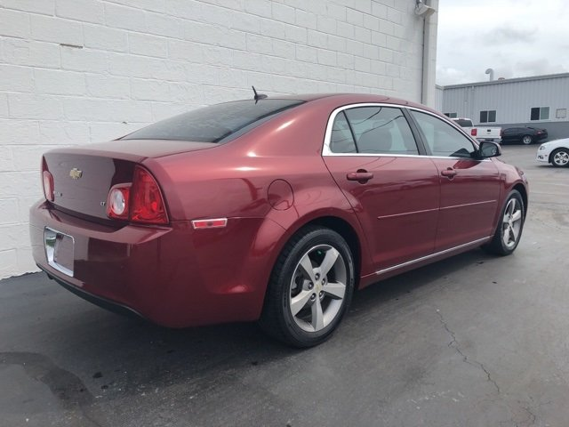2009 red Chevy Malibu LT w/2LT ECOTEC 2.4L I4 MPI DOHC VVT 16V Engine Sedan FWD