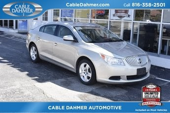 2010 Gold Buick LaCrosse CX 3.0L V6 SIDI DOHC VVT Engine Sedan FWD
