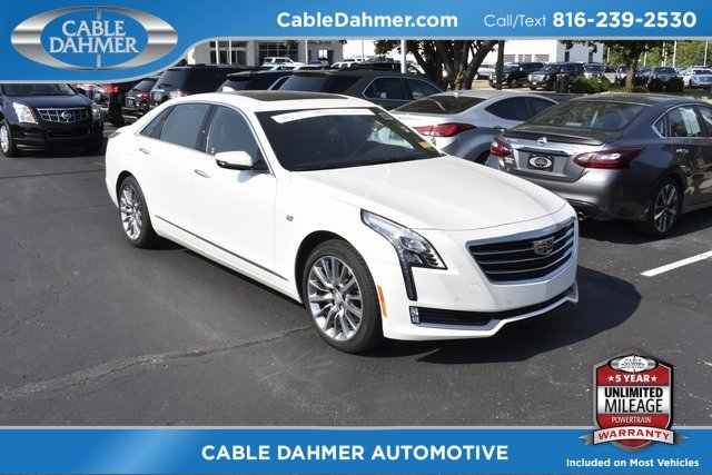 2017 Cadillac CT6 Premium Luxury AWD Sedan AWD 4 Door 3.0L V6 Engine