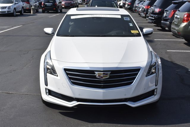 2017 Crystal White Tricoat Cadillac CT6 Premium Luxury AWD AWD 3.0L V6 Engine Automatic Sedan
