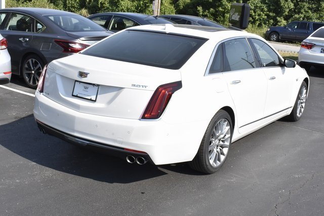 2017 Cadillac CT6 Premium Luxury AWD Automatic 3.0L V6 Engine AWD 4 Door