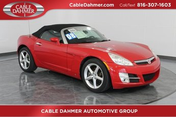 2008 Chili Pepper Red Saturn Sky Base ECOTEC 2.4L I4 DOHC VVT Aluminum Engine Convertible RWD