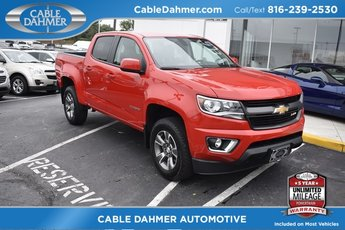 2017 Red Hot Chevy Colorado 4WD Z71 Automatic Truck V6 Engine