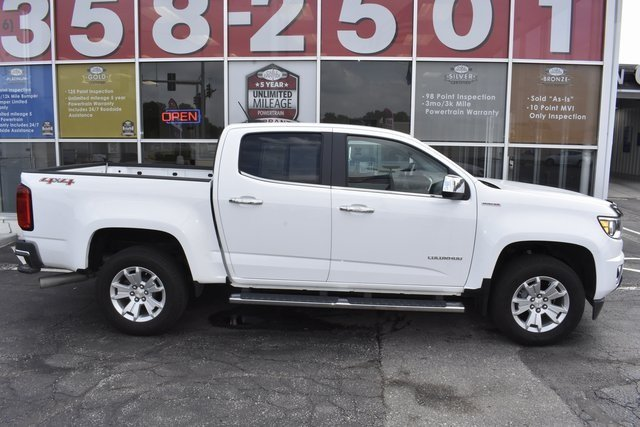 2016 White Chevrolet Colorado 4WD LT Truck 4X4 2.8L Duramax Turbodiesel Engine 4 Door Automatic