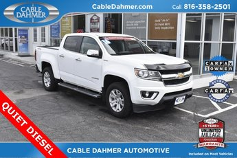 2016 White Chevy Colorado 4WD LT 4 Door 2.8L Duramax Turbodiesel Engine Automatic
