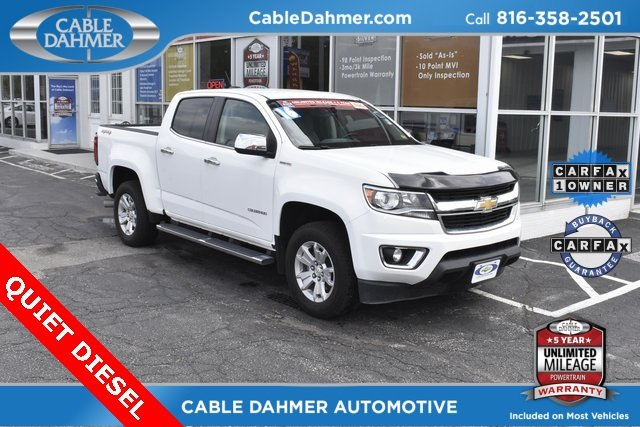 2016 Chevy Colorado 4WD LT 4 Door 4X4 2.8L Duramax Turbodiesel Engine Truck Automatic