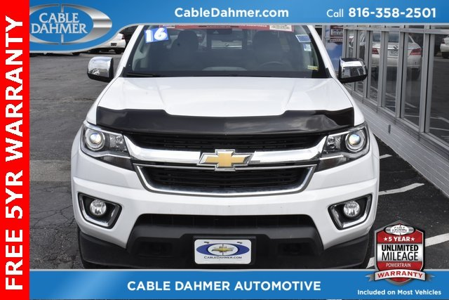 2016 Chevy Colorado 4WD LT Truck 4 Door Automatic 2.8L Duramax Turbodiesel Engine