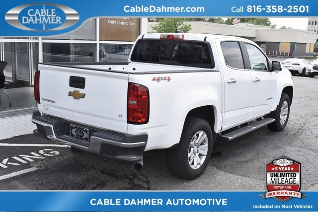 2016 White Chevy Colorado 4WD LT 4 Door 2.8L Duramax Turbodiesel Engine Truck 4X4