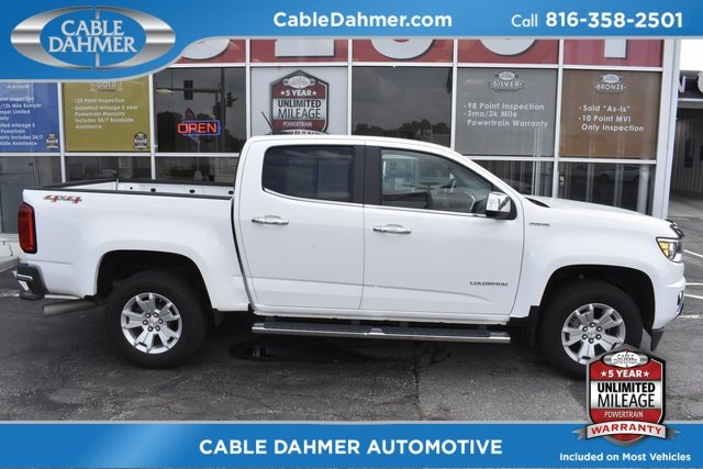 2016 White Chevy Colorado 4WD LT Automatic 2.8L Duramax Turbodiesel Engine 4 Door 4X4