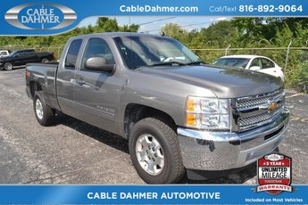 2012 Graystone Metallic Chevy Silverado 1500 LT 2 Door 4X4 Vortec 5.3L V8 SFI VVT Flex Fuel Engine