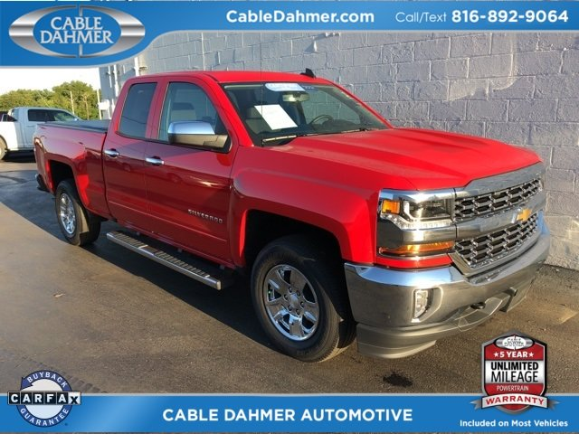 2017 Red Hot Chevy Silverado 1500 LT 4X4 4 Door EcoTec3 5.3L V8 Engine Truck