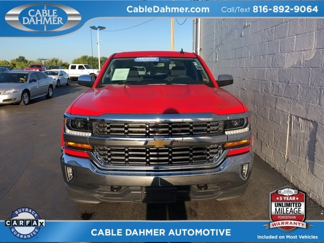 2017 Chevy Silverado 1500 LT EcoTec3 5.3L V8 Engine Truck 4 Door