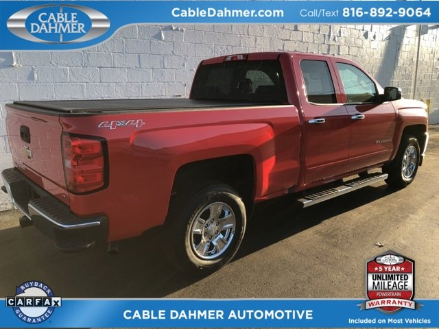 2017 Red Hot Chevy Silverado 1500 LT EcoTec3 5.3L V8 Engine Automatic 4X4 Truck 4 Door