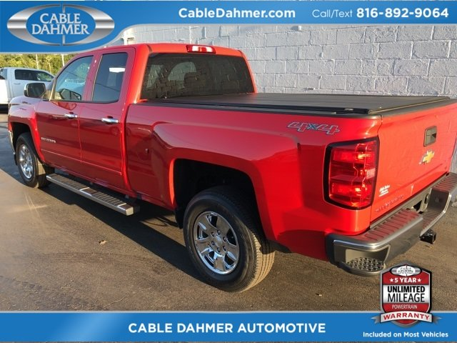 2017 Chevy Silverado 1500 LT 4 Door EcoTec3 5.3L V8 Engine Truck