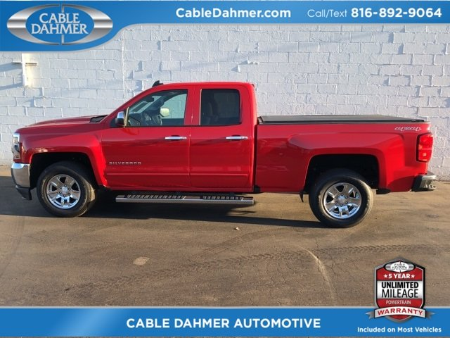 2017 Red Hot Chevy Silverado 1500 LT Automatic 4 Door EcoTec3 5.3L V8 Engine 4X4