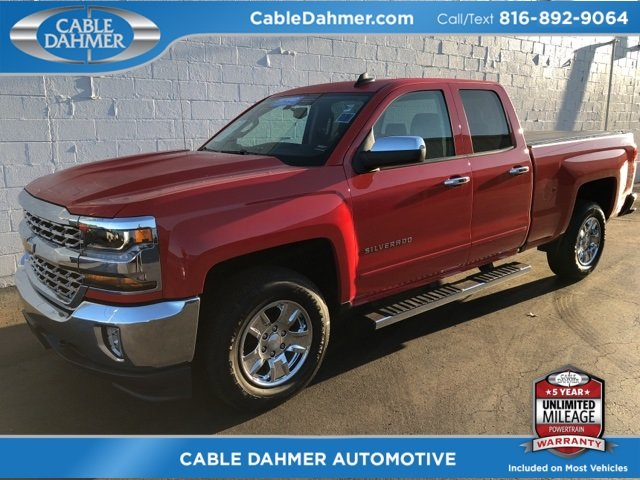 2017 Chevy Silverado 1500 LT Truck Automatic 4 Door