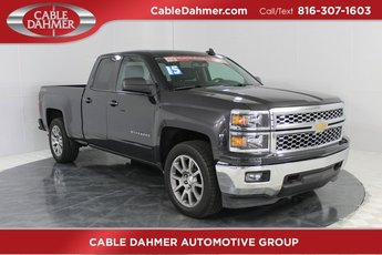 2015 Black Chevy Silverado 1500 LT 4 Door Automatic EcoTec3 5.3L V8 Engine Truck 4X4