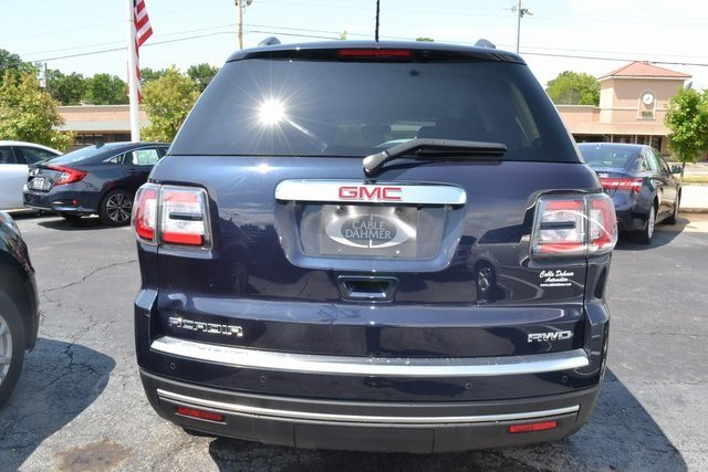 2015 Dark Sapphire Blue Metallic GMC Acadia SLT SUV 3.6L V6 SIDI Engine Automatic AWD