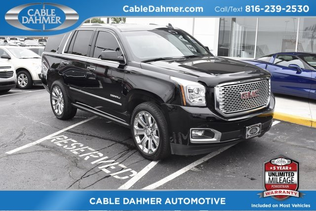 2015 GMC Yukon Denali 4X4 Automatic SUV EcoTec3 6.2L V8 Engine 4 Door